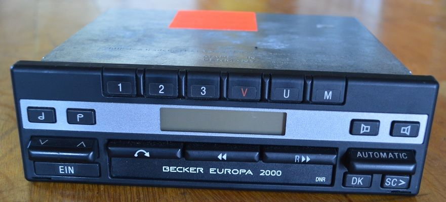 becker europa 2000 mercedes youngtimer autoradio. Black Bedroom Furniture Sets. Home Design Ideas