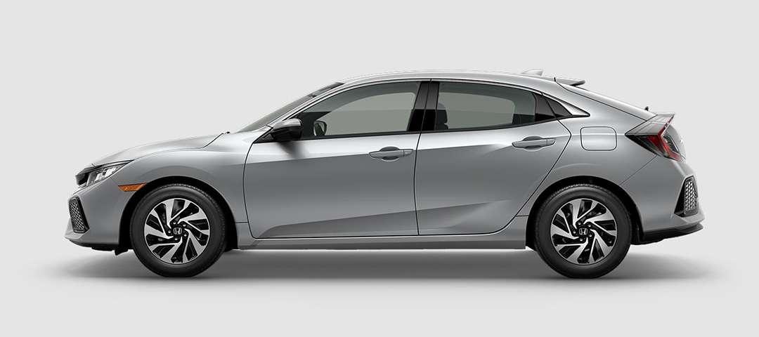 2018 Honda Civic Hatchback LX in Lunar Silver