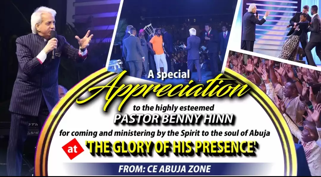 The Glory Of His Presence with Pastor Benny Hinn