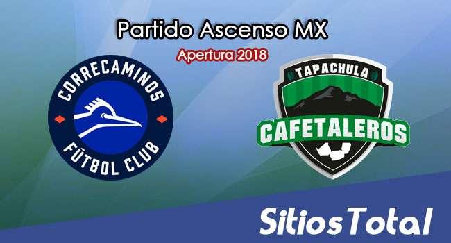 Ver Correcaminos vs Cafetaleros de Tapachula en Vivo – Ascenso MX en su Torneo de Apertura 2018