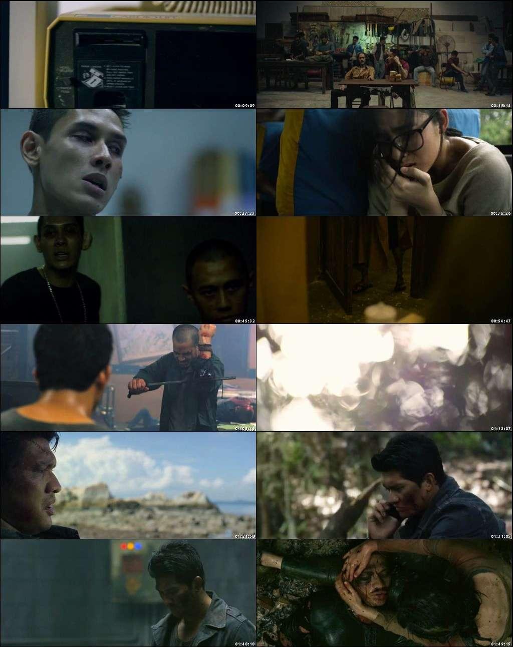 Screen Shots Headshot (2016) English Full HD Movie Download 720p