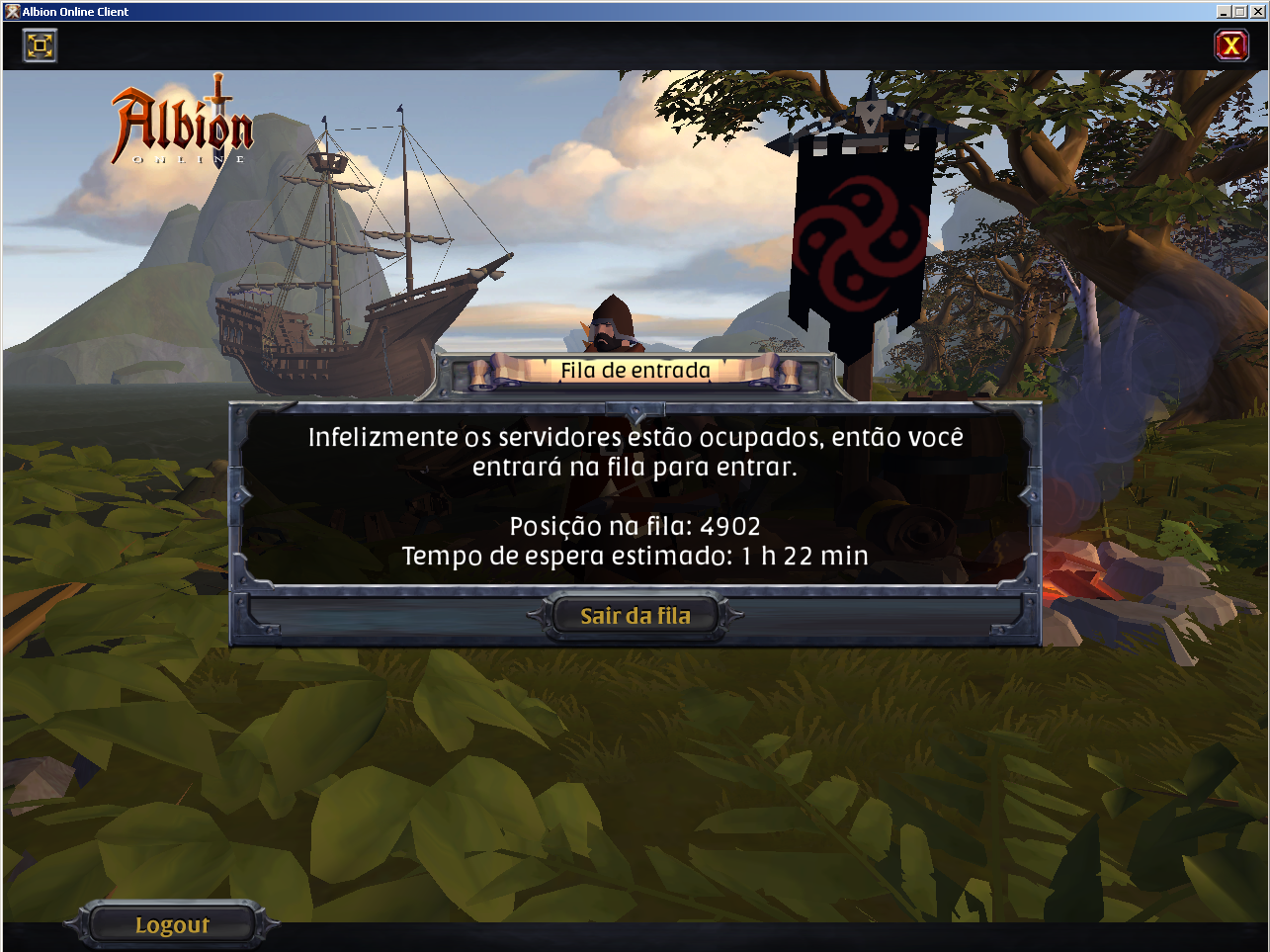 Queue waiting more than 1 hour to log in - Bugs - Albion Online Forum
