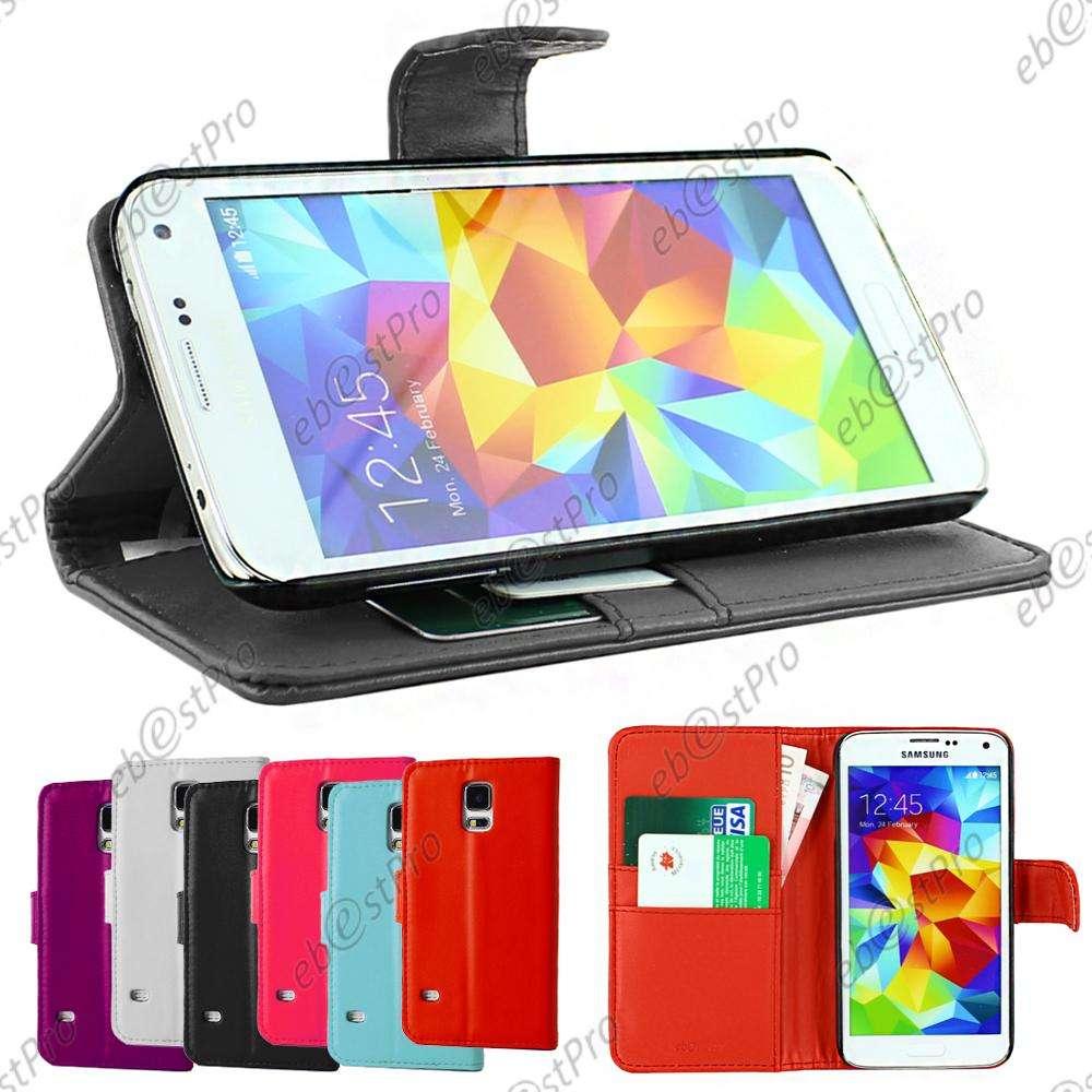 ebestStar-Etui-Housse-Portefeuille-Samsung-Galaxy-S5-S5-mini-S4-S3-VERRE-Trempe