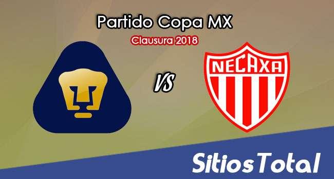 Pumas vs Necaxa en Vivo – Copa MX – Miércoles 14 de Marzo del 2018