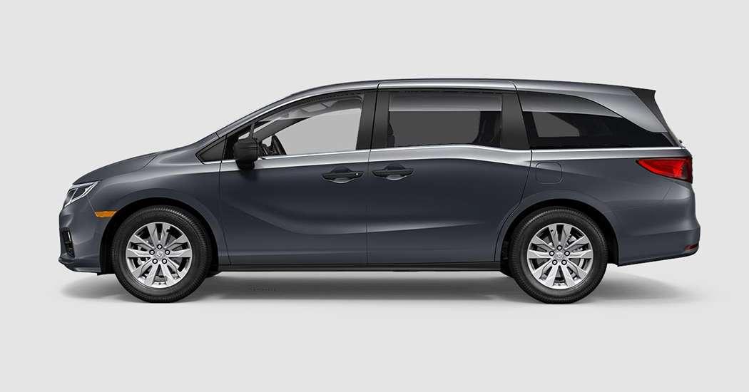 2018 Honda Odyssey LX in Modern Steel