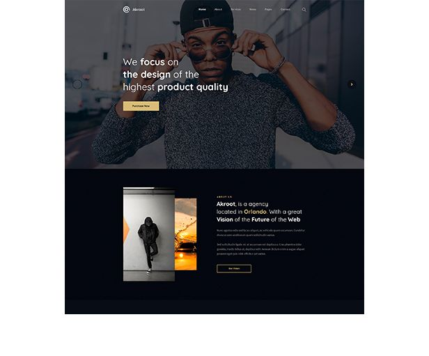 Akroot | It is the Multi-purpose Creative HTML5 Template - 4