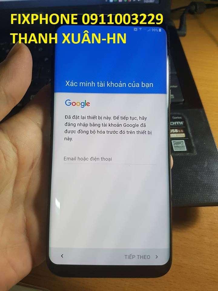 HƯỚNG DẪN - Xóa xác minh tài khoản google S8 S8+ Mỹ G950U