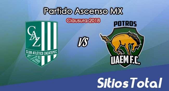 Atlético Zacatepec vs Potros UAEM en Vivo – Ascenso MX – Sábado 24 de Febrero del 2018