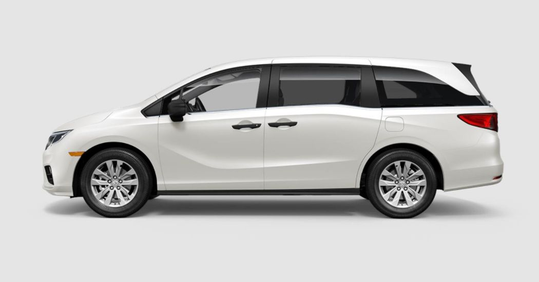 2018 Honda Odyssey LX in White Diamond