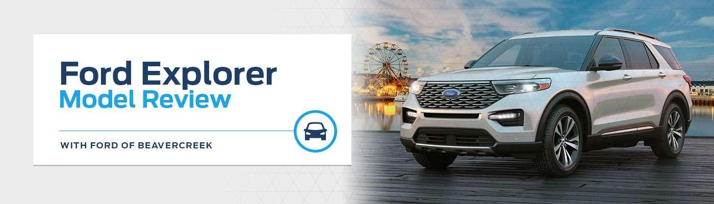 2020 Ford Explorer Model Overview at Germain Ford of Beavercreek