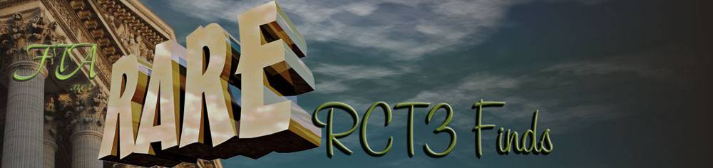 Out Other Sites - Link Intro Illustration: Rare RCT3 Finds