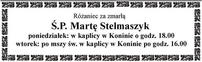 Żyli wśród nas – Marta Stelmaszyk