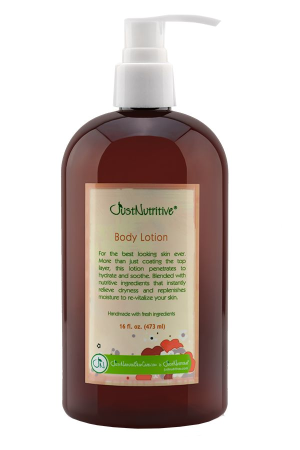 Just Nutritive Body Lotion 16 oz.