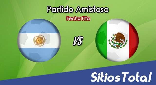 Argentina vs México en Vivo – Partido Amistoso – Viernes 16 de Noviembre del 2018