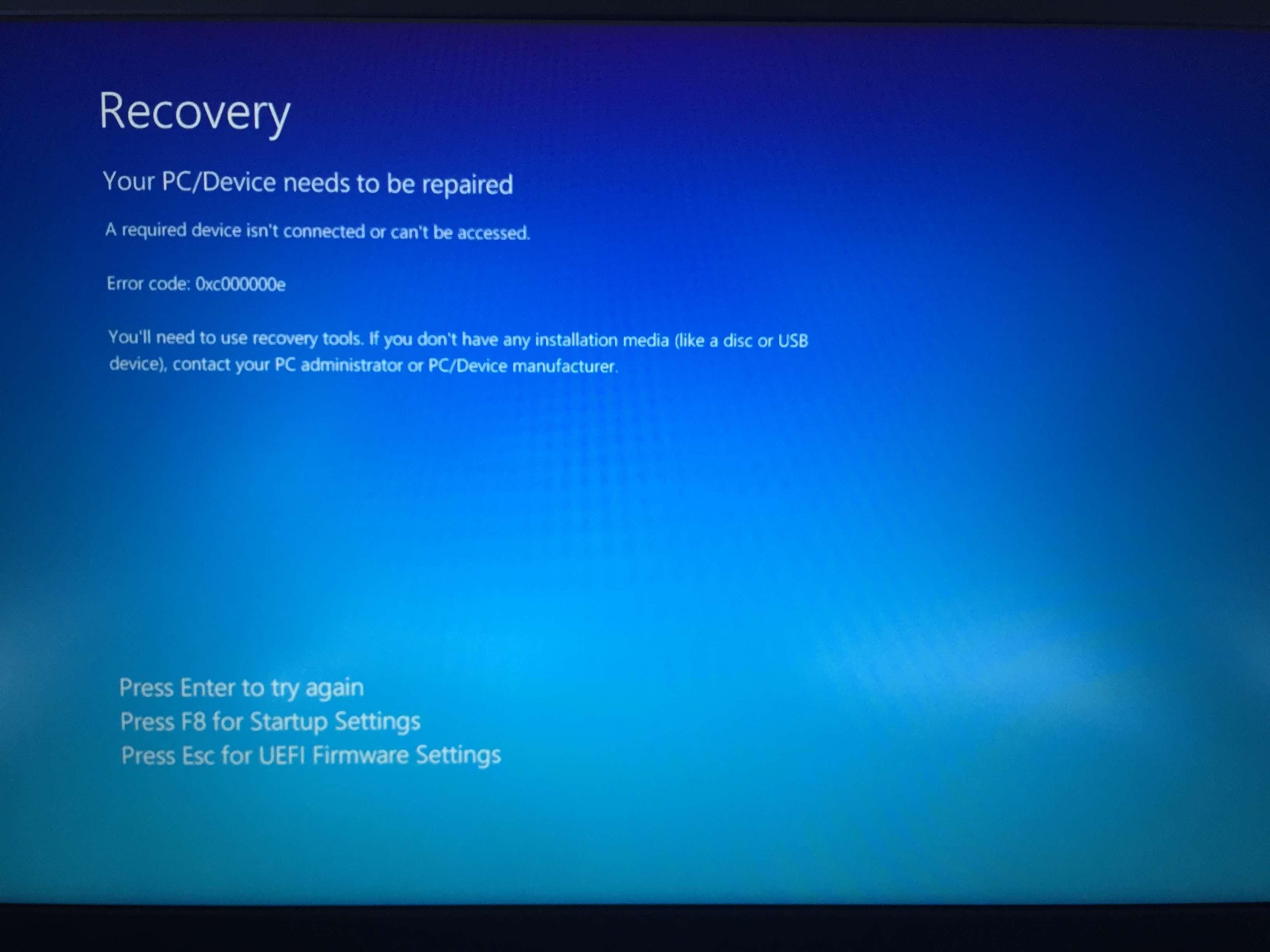 Boot Order Not Having Any Effect | Tom's Hardware Forum