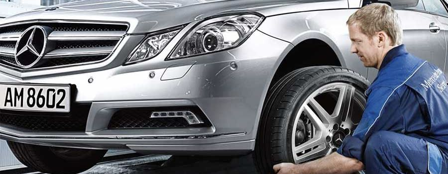 Mercedes brake service certified technicians