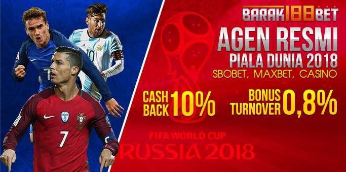 Agen SBOBET Piala Dunia 2018