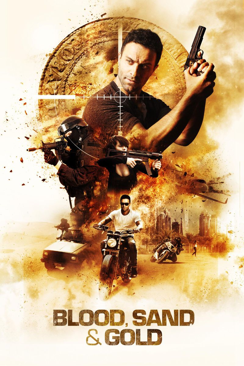 Poster Blood Sand and Gold (2017) Full HD Movie Download 700Mb