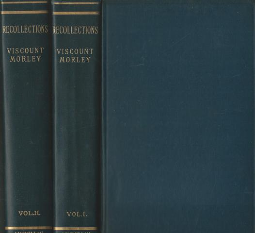 Recollections in Two Volumes