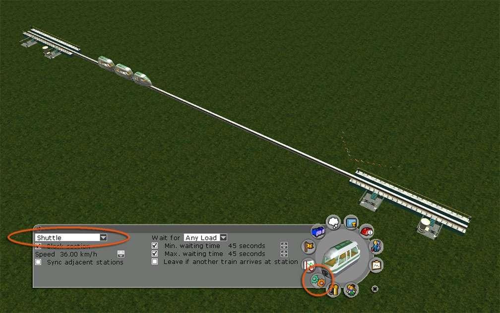 Image 01, Park Shuttle Configurations - Basic Shuttle Configuration