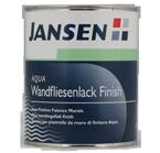 Jansen Aqua Wandfliesenlack Finish 0,75L ,seidenmatt, Fliesenlack