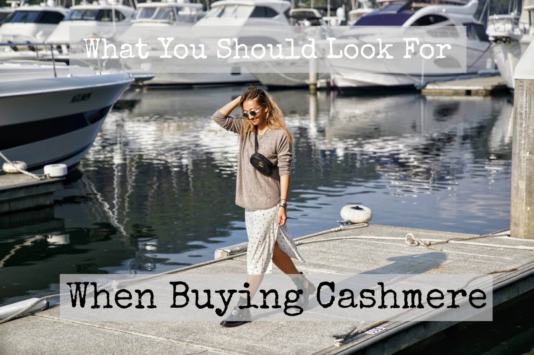 What you should look for when buying cashmere