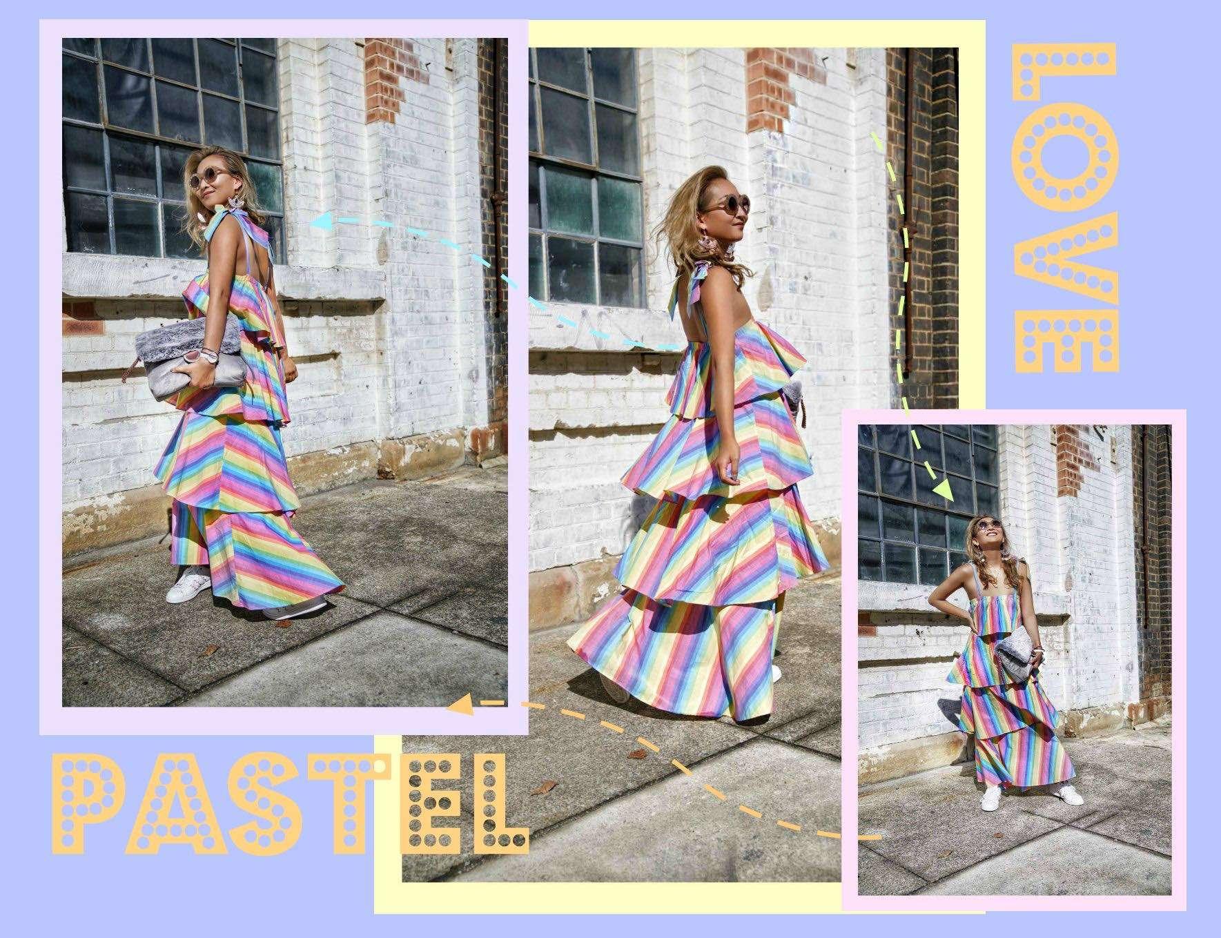Shopbop MBFWA18 Pastel