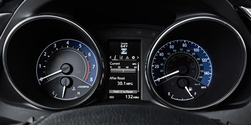 Sport Gauge Cluster with MID Screen