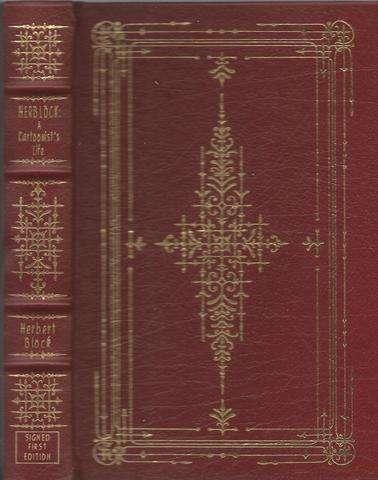 HERBLOCK: A CARTOONIST'S LIFE. Signed First Edition Series., BLOCK, Herbert. (SIGNED)