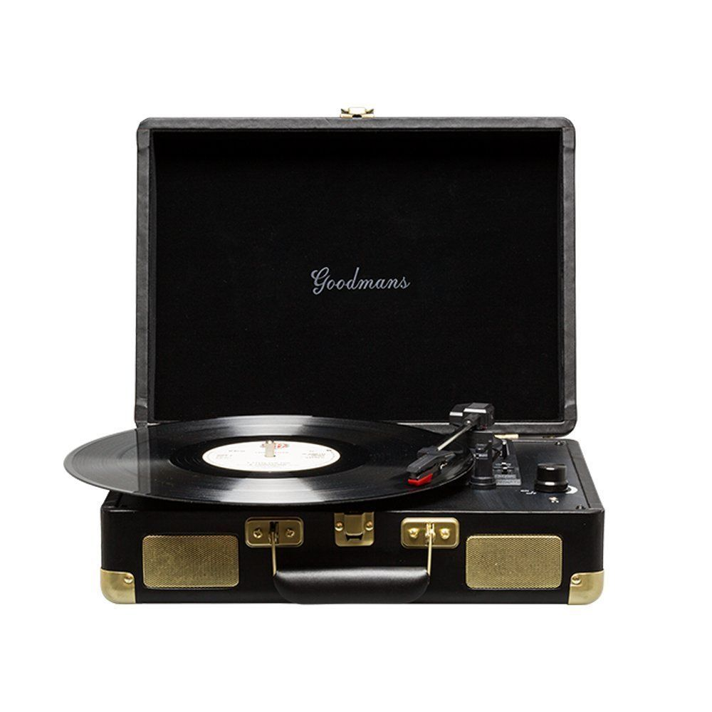 The Goodmans Ealing Is A Portable Briefcase Turntable That Has Been Brought Up To Sd With Latest Technology In Keeping Its Clic Looks And