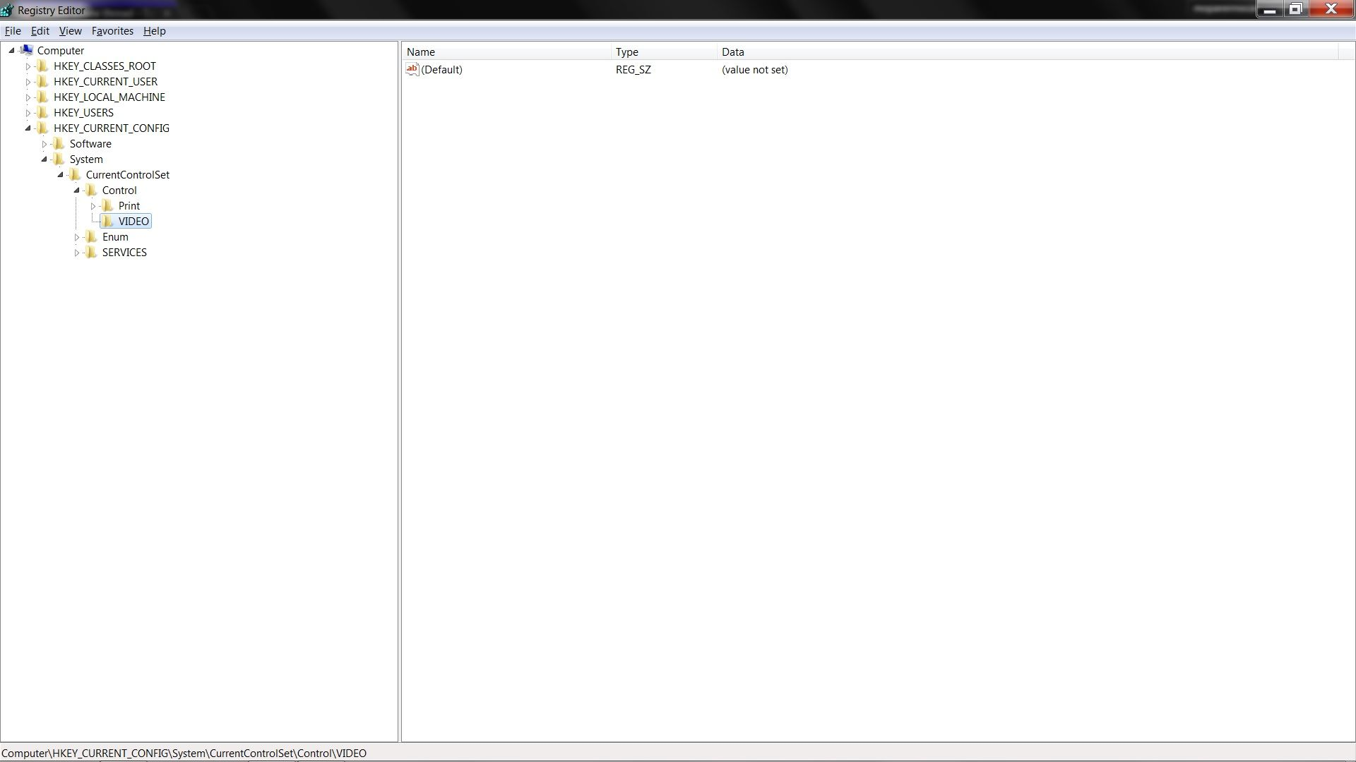 Cant edit screen resolution in registry (no sub key options)   Tom's