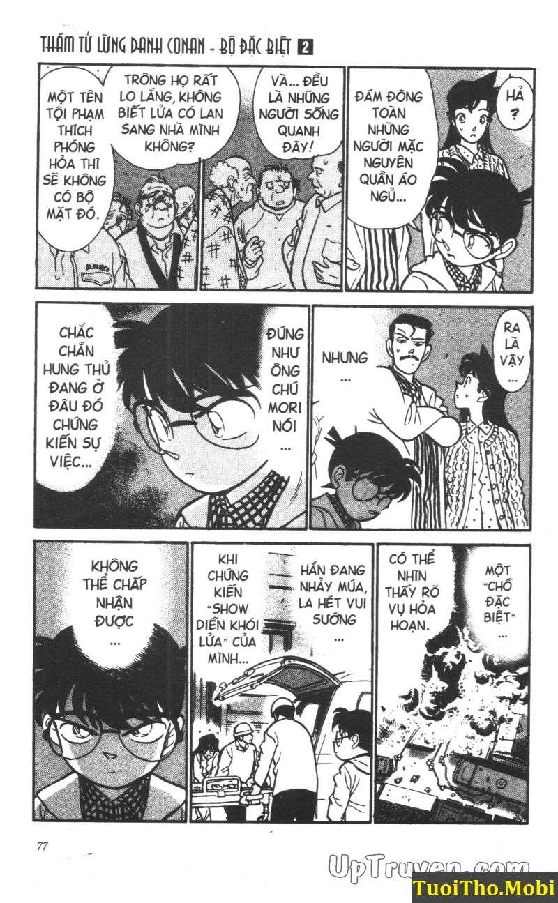 đọc truyện Conan bộ đặc biệt chap 13 trang 4