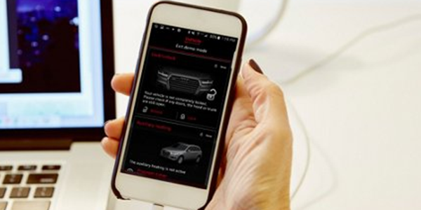 Audi connect MMI connect App