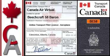 Beechcraft 58 Baron Certification Flight