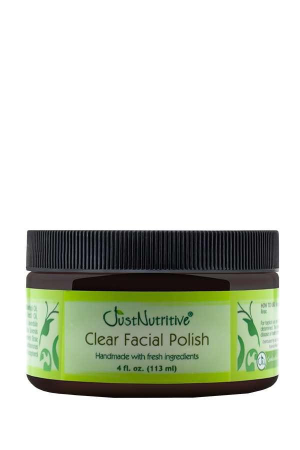 Just Nutritive Clear Facial Polish 4 oz.