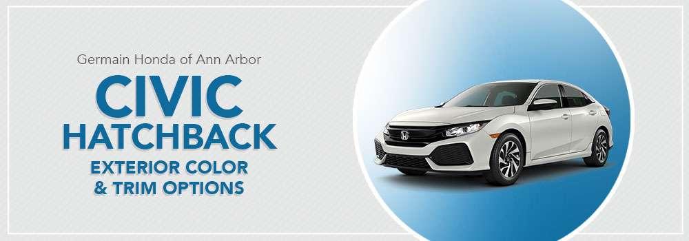 Honda Civic Hatchback Color Options