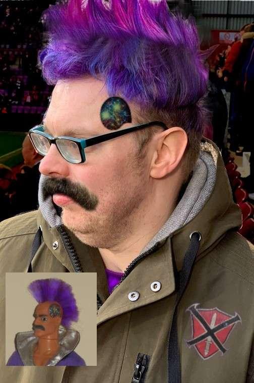 My new purple hair look. S13dsC