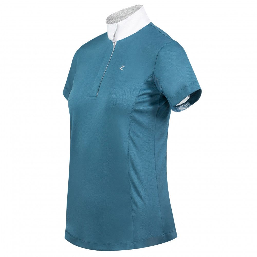 Horze-Blaire-Women-039-s-Short-Sleeve-Functional-Show-Shirt-with-UV-Protection thumbnail 27