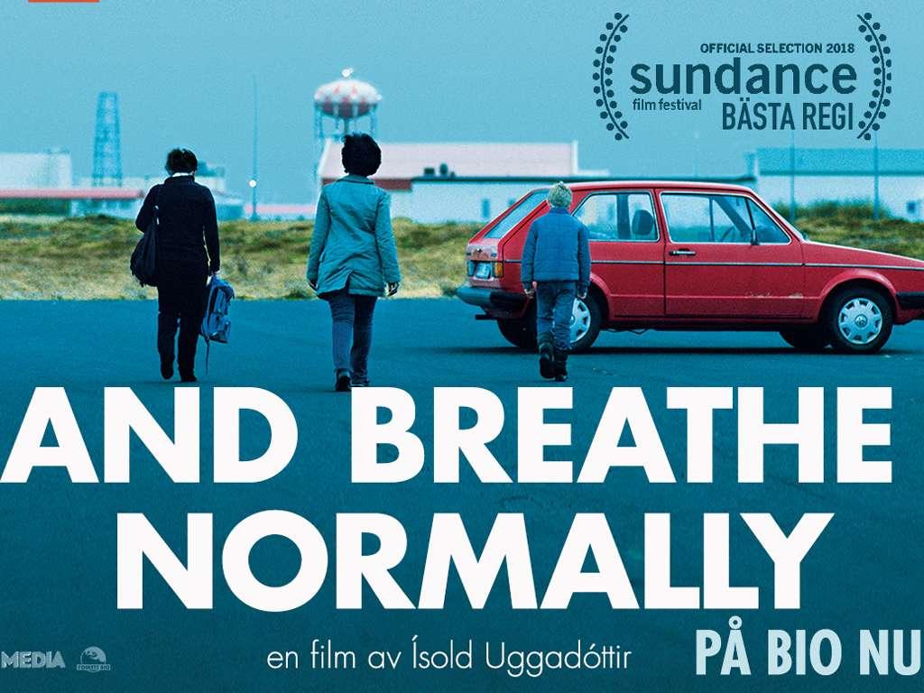 Ανάσα ελευθερίας (Andið eðlilega /  And Breathe Normally)  Poster Πόστερ Wallpaper