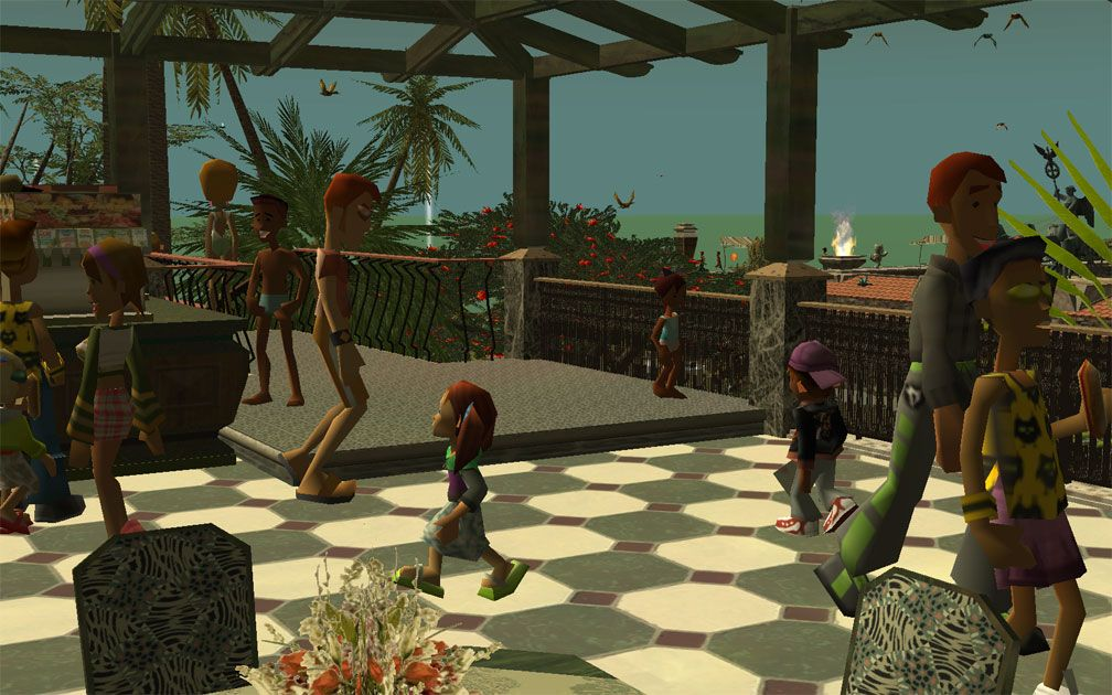 My Projects - CSO's I Have Imported, Pergolas Set - The Sandwich Terrace, From Which Can Be Seen a View of The Ocean Horizon, Image 03
