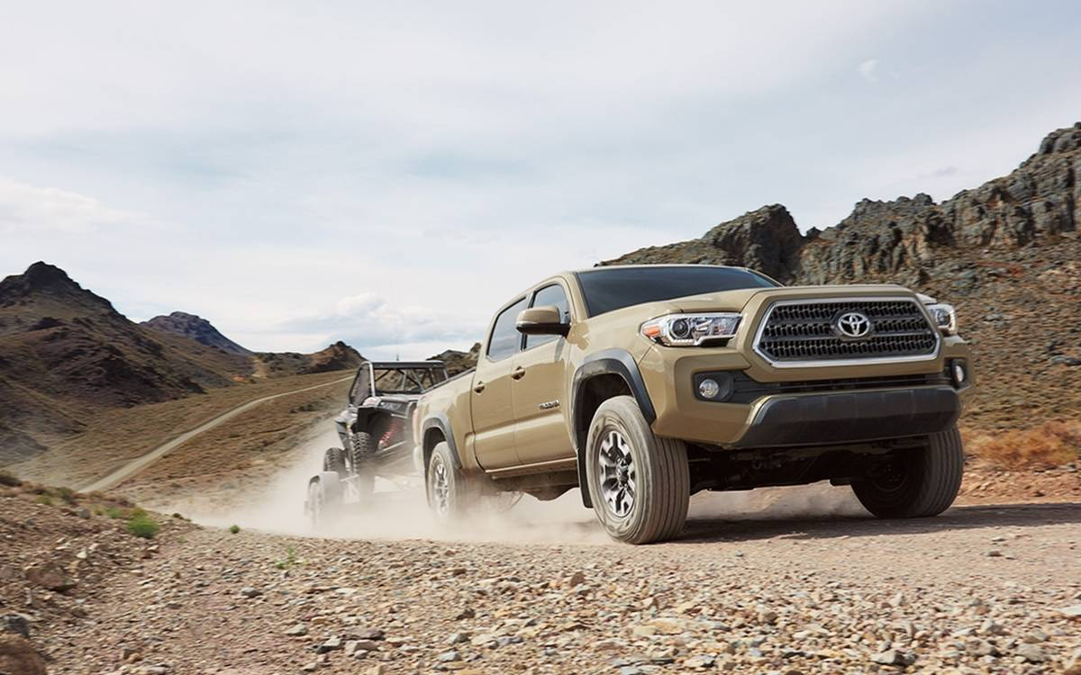 Toyota Tacoma towing capacity