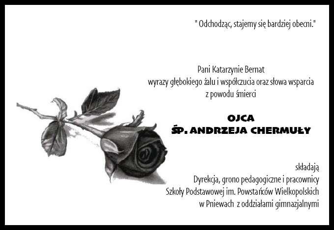 Żyli wśród nas – Andrzej Chermuła