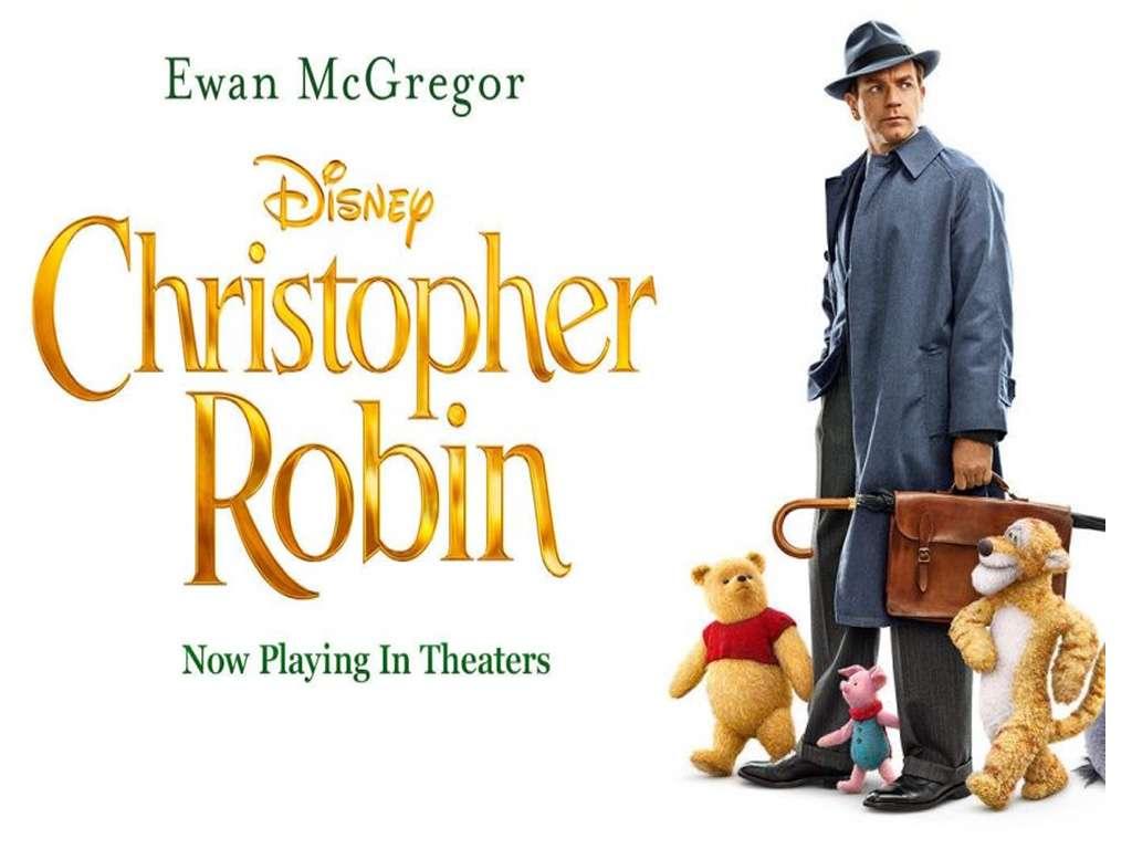 Κρίστοφερ & Γουίνι (Christopher Robin) Quad Poster Πόστερ