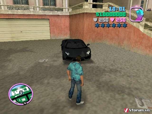 NHẬP VAI - Download tải game GTA Vice City Full MOD {Moto đẹp
