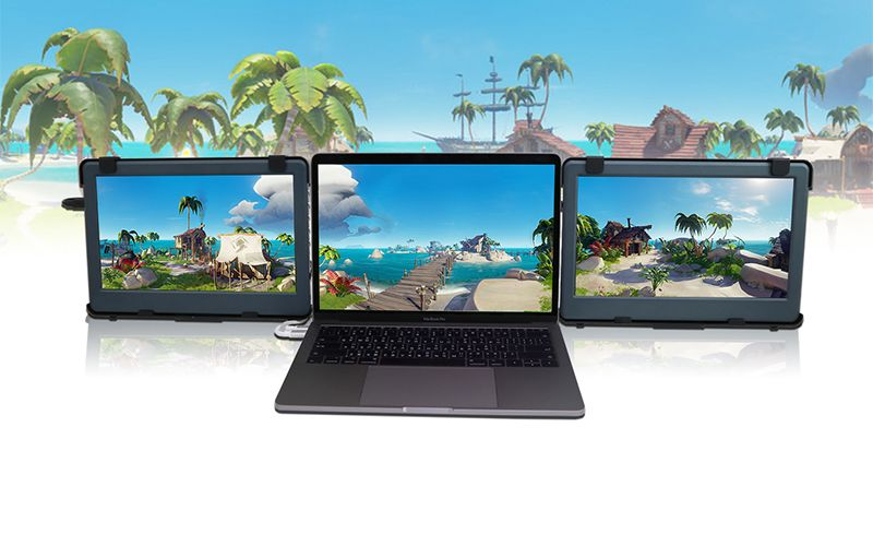 Macbook 三螢幕 外接螢幕 usb type C