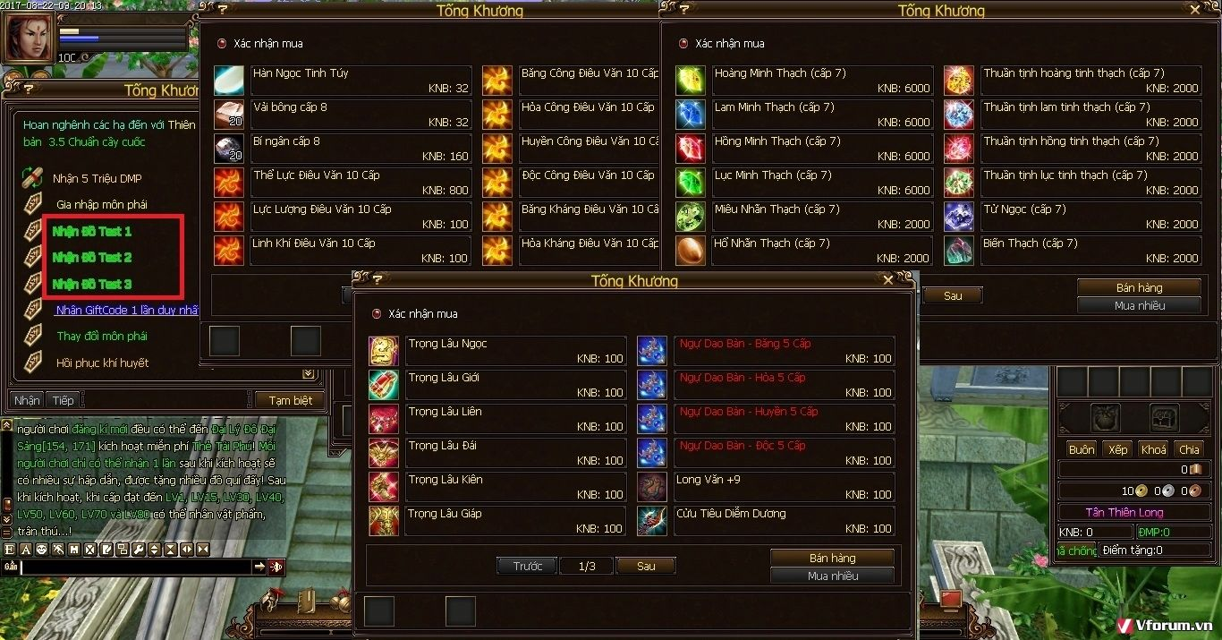 TL PHỤC HƯNG(cc) - TEST GAME - OPEN 14H CN 05/11 - CHUẨN ITEM, DROP - ĐUA TOP NHẬN TRÙNG VI SgItgE