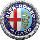 1925 Alfa Romeo Badge Logo