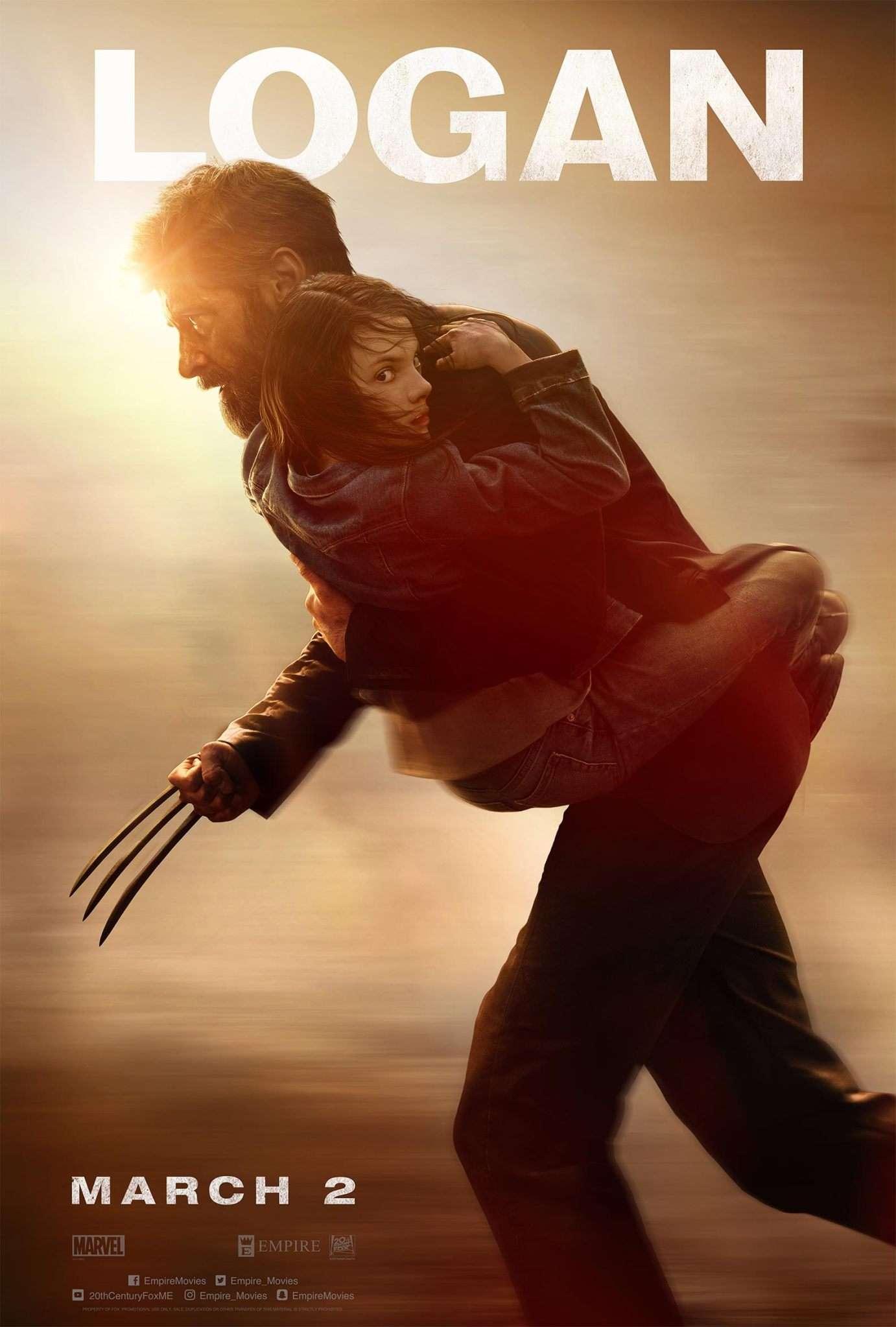 Poster Logan (2017) Full HD Movie Download Dual Audio In Hindi 720p