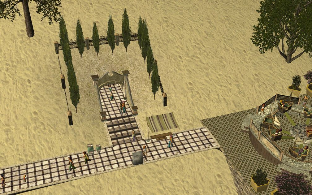 My Projects - CSO's I Have Imported, Walls, Tunnels, and Fences - Tunnel Entrance Near Sea Storm Entrance, Image 09