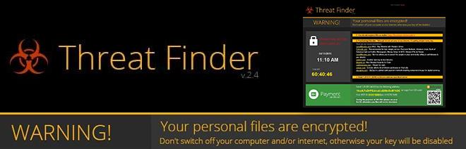 Minaccia Finder ransomware